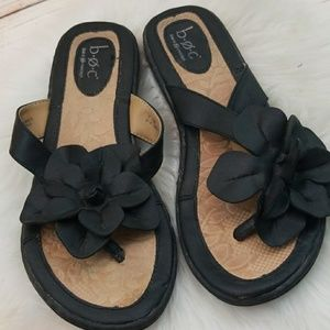 B.O.C. Born Concepts slip on thong floral sandals